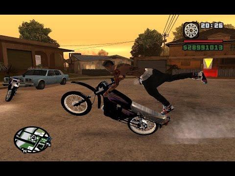 GTA San Andreas Moto Pirueta