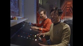 """To Boldly Go: Part I"" behind-the-scenes bloopers"
