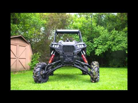 Super ATV RZR 900 10 Lift Kit Test