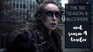 The 100 Season 3 Blooper Reel (+ Comic Con Season 4 Teaser) [HD]