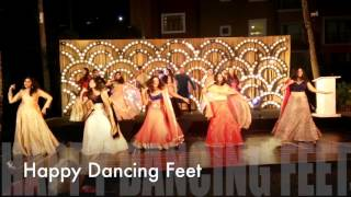 Gallan Goodiyaan | Happy Dancing Feet | Indian Wedding Dance | Sangeet | Friends Dance