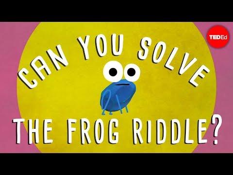 Can you solve the frog riddle Derek Abbott