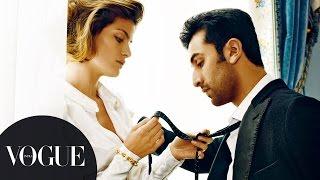 Vogue Archives: Ranbir Kapoor Seduces Supermodel Isabeli Fontana | Cover Photoshoot | VOGUE India
