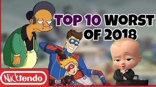 Top 10 Worst Cartoon Episodes of 2018 (That Made Me Die Inside)