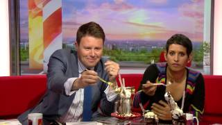 Black Milk's Freakshake on BBC's Breakfast 02/06/2016