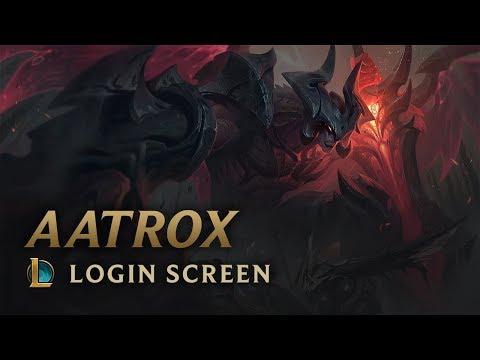 Xxx Mp4 Aatrox The Darkin Blade Login Screen League Of Legends 3gp Sex
