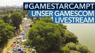 GameStar auf der Gamecom 2017 - Spiele & Programm bei #GameStarCampt