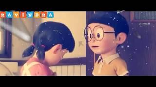 Ye Barish Ka Pani - Nobita and Shizuka -whatsapp status-in hindi