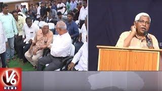 Prof Kodandaram Demands TS Govt To Release Job Calender | V6 News