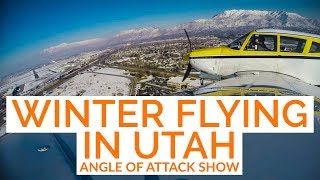 Winter Flying in UTAH & Commercial Pilot Training