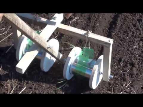 Plantadeira de cenoura e outras sementes miúdas Parte 3