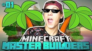Die MASTER BUILDERS?! - Minecraft Master Builders #01 [Deutsch/HD]