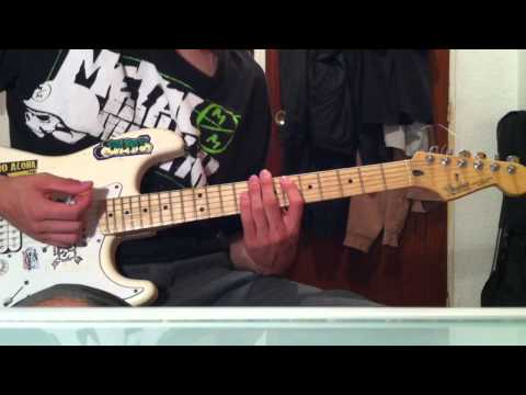 Nymphetamine (Cradle Of Filth) Guitar Cover How to Play