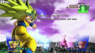 Dragon Ball Z for Kinect - Super Saiyan 3 Goku vs Kid Buu HD