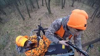 DOWN WITHIN SIGHT!! - PA Rifle Hunting 2017!