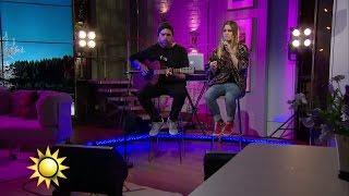 Ace Wilder - Busy Doin' Nothin' (Live - akustisk version) - Nyhetsmorgon (TV4)