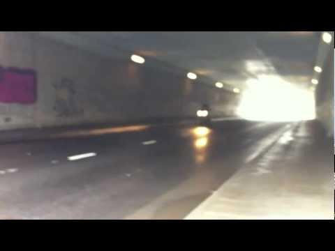 Tunnel rinding with Yamaha R6 and R1