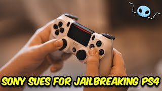 Sony sues man for selling Jailbroken PS4