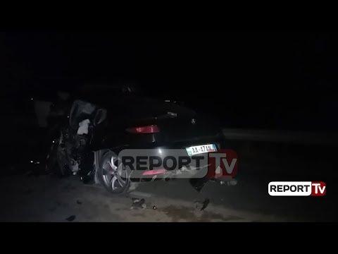Report TV - Tragjike, babai me 2 fëmijët e mitur vdesin në aksident
