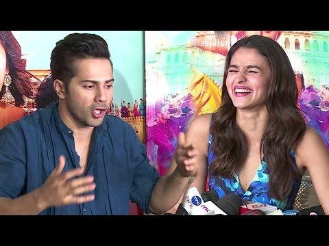 Alia Bhatt & Varun Dhawan's Mind Blowing Interview For Badrinath Ki Dulhaniya Full Video HD