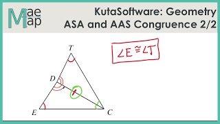 KutaSoftware: Geometry- ASA And AAS Congruence Part 2