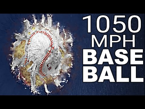 World s Fastest Pitch Supersonic Baseball Cannon Smarter Every Day 242