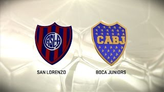Fútbol en vivo. San Lorenzo vs Boca. Fecha 11. Torneo de Primera División 2016/2017. FPT