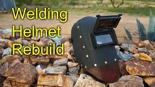 Rebuilding a welding mask- Kydex and Leather
