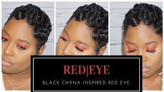 Black Chyna Inspired Red Eye|Antosha Johnson