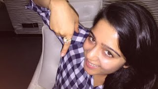 Charmi Kaur gets a diamond ring gift from the producer | JyothiLakshmi Movie Trailer