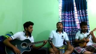 Guitar & okulele version of Anmone 2[Imran,sharthok,Alfi]
