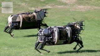 AlphaDog, U.S. Marines Robot Pack Animal - Legged Squad Support System