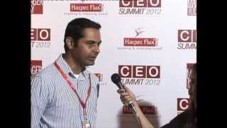 (Blue Carpet) Salman Mazhar Marketing & PR Wateen Telecom at CEO SUMMIT 2012 by Manager Today