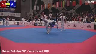 Maksud Dadashov RUS - Vasyl Kotyash UKR