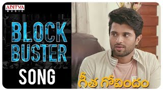 Geetha Govindam BlockBuster Song || Geetha Govindam Movie || Vijay Devarakonda, Rashmika Mandanna
