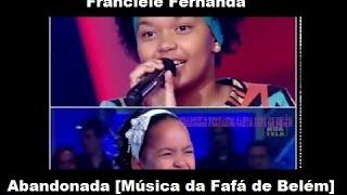 Franciele Fernanda - Abandonada (Jovens Talentos KIDS - 2012)