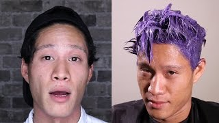 Men Dye Their Hair For The First Time