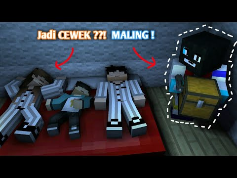 Maling !!! - Sketsa Minecraft ft. 4 Brother & Anited | (Open Q&A) Minecraft Animation