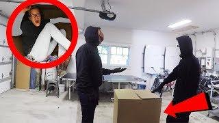 24 Hours Overnight inside a Secret Mystery Box! (New Evidence of Code 10 Hypnotized)