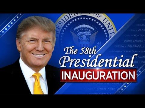 LIVESTREAM Trump Inauguration and Parade -