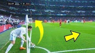 10 خدع في كرة القدم لا يفعلها سوى كريستيانو رونالدو !!