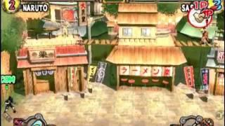 Naruto: Ultimate Ninja 2 (PS2 Gameplay)