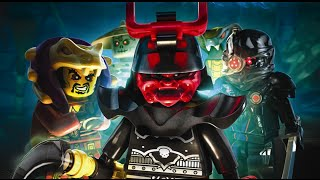 LEGO Ninjago Shadow of Ronin Full Movie All Cutscenes Cinematic