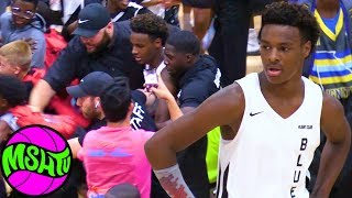 Bronny Blue Chips BUZZER BEATER at Balling on the Beach 2019