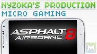 [Test Micro Gaming] Asphalt 8 Airborn, un Burnout like de qualité !