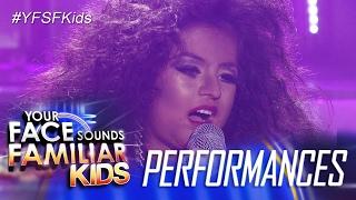 Your Face Sounds Familiar Kids: Xia Vigor as Diana Ross - Ain't No Mountain High Enough