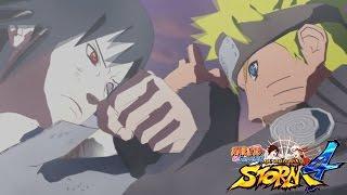 Naruto Shippuden Ultimate Ninja Storm 4 All Cutscenes (Game Movie)