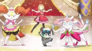Serena vs Aria - Master Class Pokémon Showcase