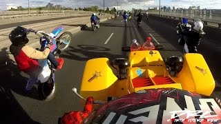 Dirty Riderz Crew (Live) // Au coeur de la barode 5.0 (reportage 66 minutes, M6) #BikeLife (part.1)