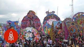 Connecting With Spirits Through Giant Handmade Kites